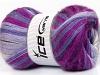 Mohair Magic Purple Lilac Lavender Fuchsia