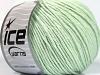 Cotton Bamboo Light Mint Green