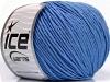 Cotton Bamboo Light Indigo Blue