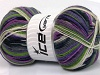 Super Sock White Lilac Grey Green Black