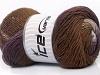 Primadonna White Purple Brown