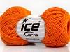 Natural Cotton Fine Dark Orange