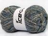 Wool Melange White Camel Blue Shades