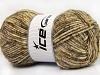 Wool Melange White Camel Brown Shades