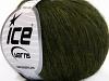 Wool Softair Dark Green Melange