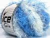 Modena Viscose White Blue Shades