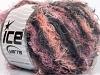 Modena Viscose Salmon Pink Black