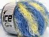 Modena Viscose Yellow Blue Shades