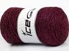 Macrame Cotton Glitz Burgundy
