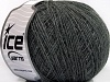 Acryl Cord Fine Dark Grey