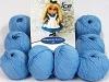 Amigurumi Cotton 25 Light Blue