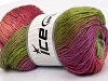 Rainbow Pink Shades Lilac Grey Green