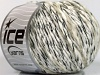 Chenille Wool Flamme White Cream Black