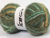 Alpine Angora Color Green Shades Gold SuperBulky