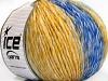 Roseto Worsted Yellow Grey Brown Blue Shades