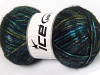 Universe Turquoise Navy Green