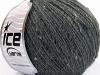 Pop Wool Tweed Dark Grey