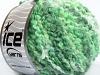Boucle Wool Bulky Green Shades