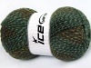 Puzzle Wool Green Shades Brown Shades
