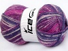 Jeans Wool Purple Fuchsia