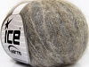 Kid Mohair Fine Grey Shades Brown Shades