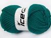 Superwash Wool Chunky Emerald Green