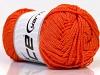 Macrame Cord Orange Width is 3 mm