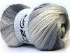 Baby Batik White Grey Black