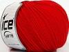 Superwash Merino Extrafine Red