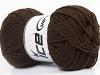 Baby Wool Dark Brown