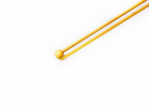 2 mm (US 0) A set of 2 bamboo knitting needles. Length: 35 cm (14&). Size: 2 mm (US 0) Brand SKC, acs-164