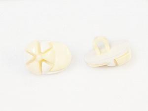 15mm long White, Light Yellow, Brand Ice Yarns, acs-475