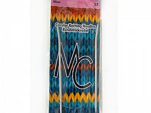 3.5 mm (US 4) Circular Knitting Needles. Length: 80 cm (32&). 3.5 mm (US 4) Brand SKC, acs-68