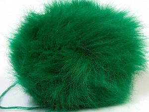 Diameter around 7cm (3&) Brand Ice Yarns, Green, acs-552