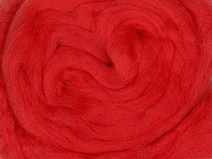 50gr-1.8m (1.76oz-1.97yards) 100% Wool felt Fiber Content 100% Wool, Yarn Thickness Other, Brand ICE, Dark Salmon, acs-962