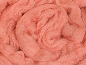50gr-1.8m (1.76oz-1.97yards) 100% Wool felt Fiber Content 100% Wool, Pink, Brand Ice Yarns, acs-1108