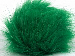 Diameter around 7cm (3&) Brand Ice Yarns, Green, acs-1174