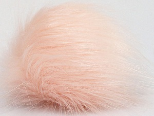 Diameter around 7cm (3&) Powder Pink, Brand Ice Yarns, acs-1181