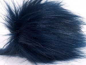 Diameter around 7cm (3&) Navy, Brand Ice Yarns, acs-1184