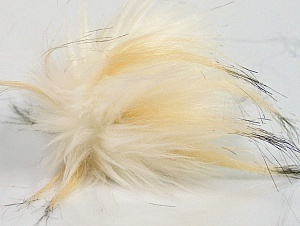 Diameter around 7cm (3&) Brand Ice Yarns, Cream Shades, acs-1195