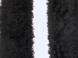 Length is about 40 cm Brand Ice Yarns, Black, acs-1243