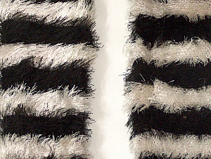 Length is about 40 cm Brand Ice Yarns, Grey, Black, acs-1247