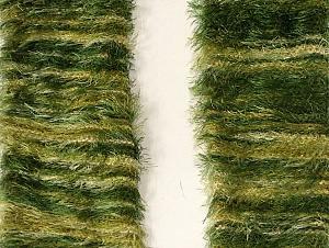 Length is about 40 cm Brand Ice Yarns, Green Shades, acs-1248