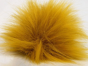 Diameter around 7cm (3&) Brand Ice Yarns, Gold, acs-1263