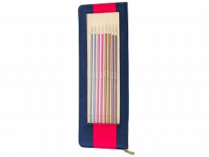 47405 KnitPro Item Code: 47405 Pack Contents: 8 Pairs of 25 cm Knitting Needles: 2.5, 3.0, 3.5, 4.0, 4.5, 5.0, 5.5, 6.0 mm Brand Ice Yarns, acs-1352