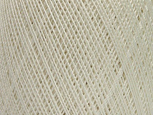 Ne: 10/3 Nm: 17/3 Fiber Content 100% Mercerised Cotton, White, Brand Ice Yarns, Yarn Thickness 1 SuperFine  Sock, Fingering, Baby, fnt2-49527