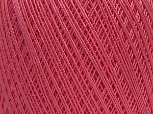 Ne: 10/3 Nm: 17/3 Fiber Content 100% Mercerised Cotton, Pink, Brand Ice Yarns, Yarn Thickness 1 SuperFine  Sock, Fingering, Baby, fnt2-49530