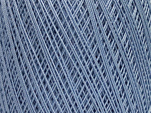 Ne: 10/3 Nm: 17/3 Fiber Content 100% Mercerised Cotton, Light Lilac, Brand Ice Yarns, Yarn Thickness 1 SuperFine  Sock, Fingering, Baby, fnt2-49533