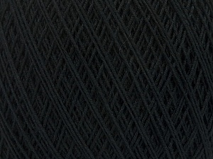 İçerik 67% Pamuk, 33% Polyester, Brand Ice Yarns, Black, Yarn Thickness 1 SuperFine Sock, Fingering, Baby, fnt2-49559