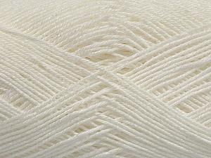 Ne: 8/4. Nm 14/4 Fiber Content 100% Mercerised Cotton, White, Brand Ice Yarns, Yarn Thickness 2 Fine Sport, Baby, fnt2-49594
